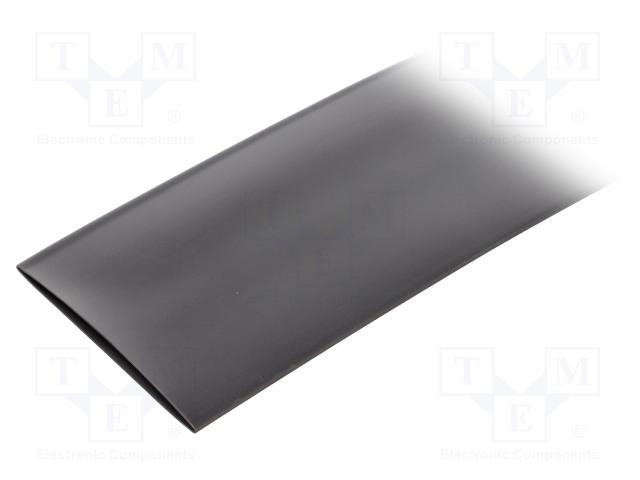 ALPHA WIRE FIT2212IN BLACK 3X6 IN - Heat shrink sleeve