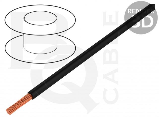 LGY0.35-BK BQ CABLE, Vodič