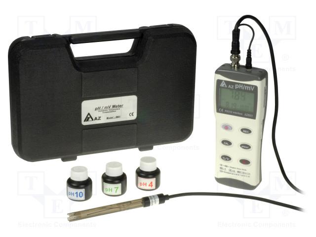 AZ AZ8601 - Aparat de măsură: pH şi milivoltmetru