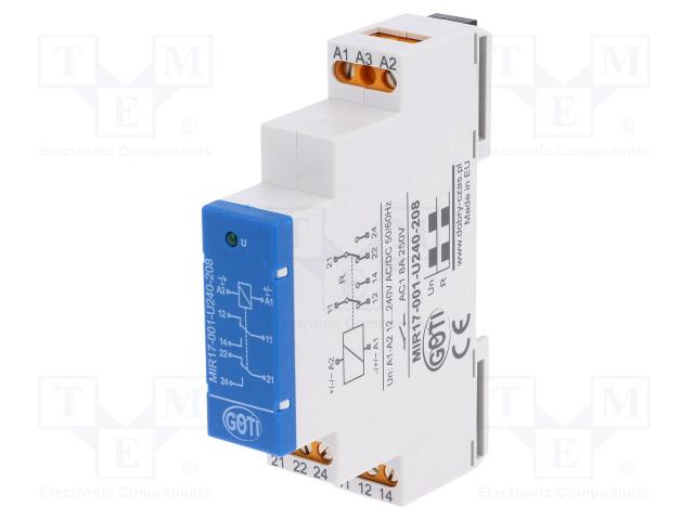 DOBRY CZAS MIR17-001-U240-208 - Relé: instalační