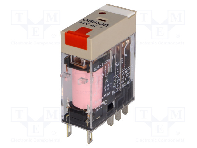 OMRON G2R-2-SNI 24VAC (S) - Relay: electromagnetic