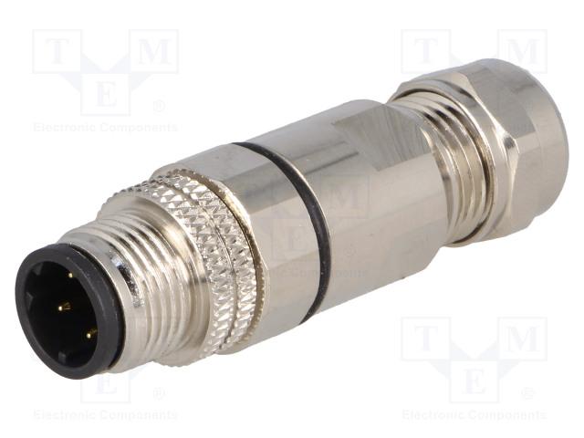 BULGIN PXMBNI12FIM04DSCPG7 - Plug