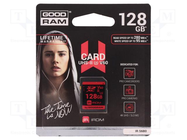 GOODRAM IR-S6B0-1280R11 - Tarjeta de memoria