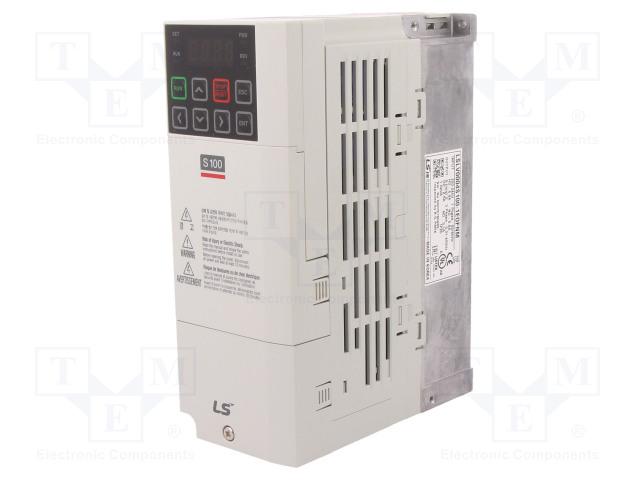 LS INDUSTRIAL SYSTEMS LSLV0004 S100-1EOFNM - Falownik wektorowy