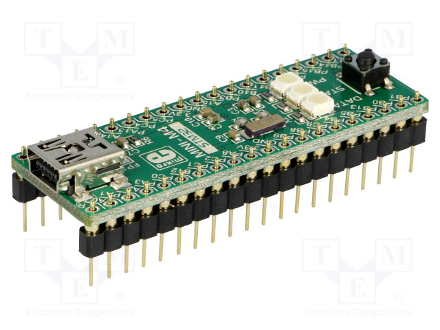 MINI-M4 FOR STM32 MIKROELEKTRONIKA - Dev kit: ARM ST MIKROE