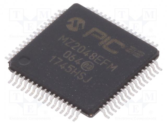 MICROCHIP TECHNOLOGY PIC32MZ2048EFM064-I/PT - Mikrokontrolér PIC
