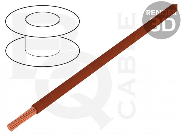 FLRYW-B0.35-BR BQ CABLE, Przewód
