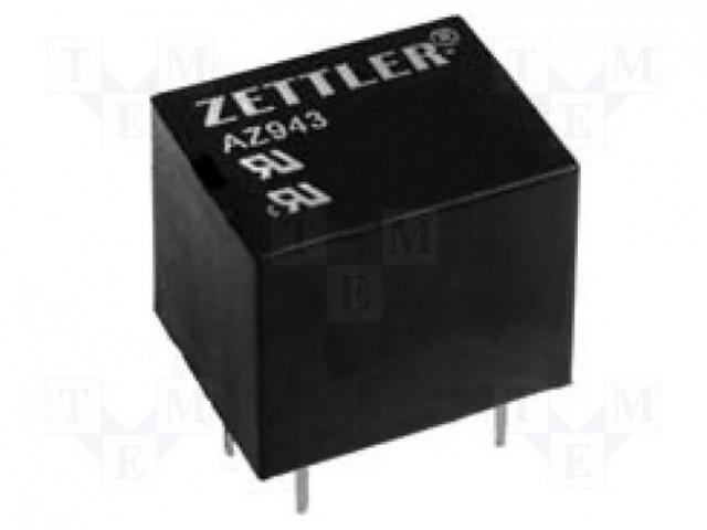 ZETTLER AZ943-1AH-12DE - Relay: electromagnetic