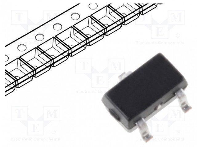 ON SEMICONDUCTOR (FAIRCHILD) 2N7002KW-FAI - Transistor: N-MOSFET
