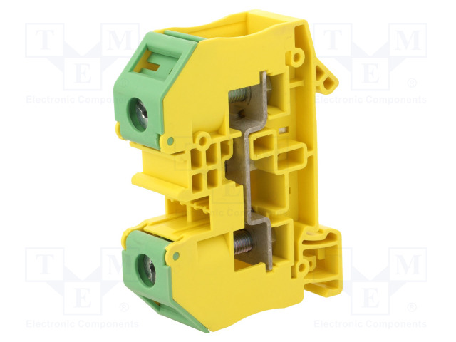 RT 5-PE 3049424 PHOENIX CONTACT - Splice terminal: rail | ways: 1; terminals:  2; yellow-green; 1000V; RT5-PE | TME - Electronic components