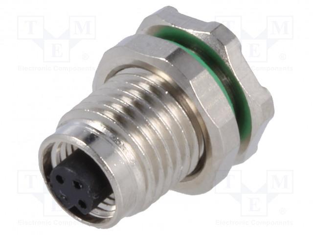 BULGIN PXMBNI05RPF03APC - Connector: M5