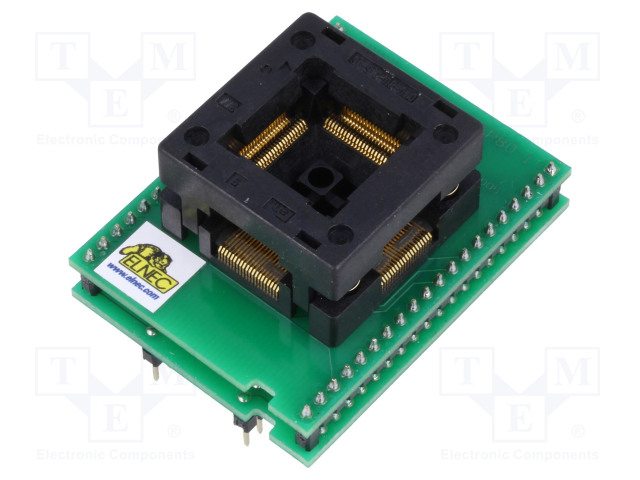 ELNEC DIL40/TQFP80-1 ZIF PIC-1A - Adapter: DIL40-TQFP80