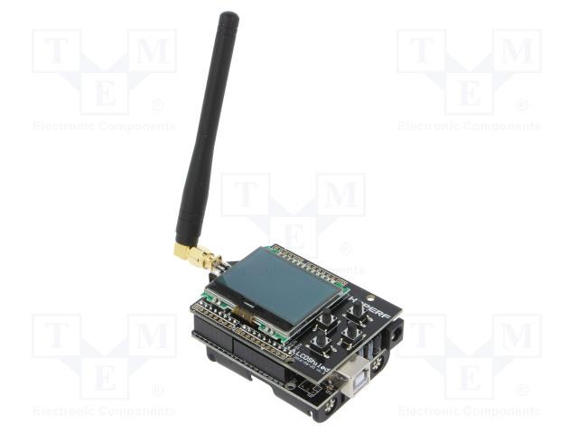 HOPE MICROELECTRONICS HOPEDUINO + 40801000478 - Výv.kit: vývojový