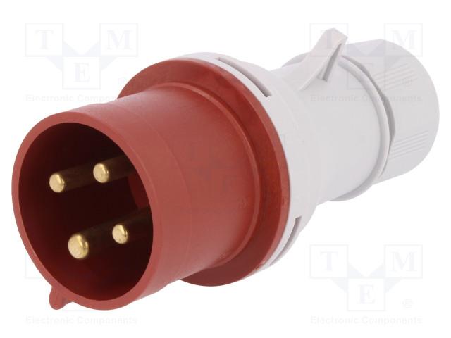 PAWBOL B.1031 - Connector: AC supply 3-phase