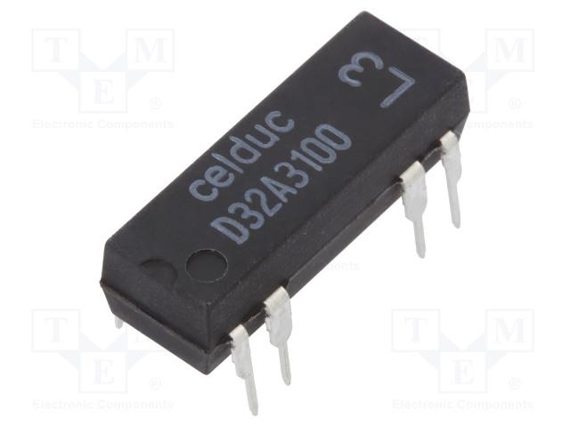 CELDUC D32A3100 - Przekaźnik: kontaktronowy