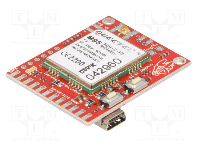 R&D SOFTWARE SOLUTIONS CUGSM113#UFL - Expansion board