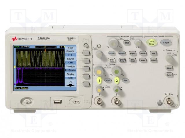 KEYSIGHT TECHNOLOGIES DSO1012A - Osciloskop: číslicový