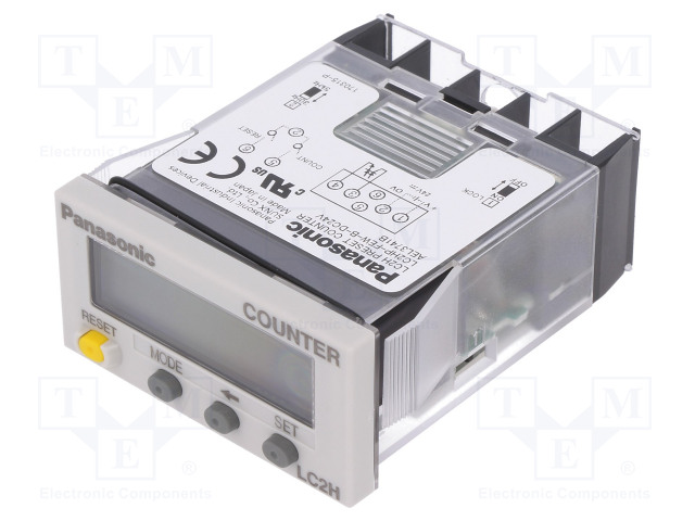 PANASONIC LC2HP-FEW-B-DC24V - Counter: electronical