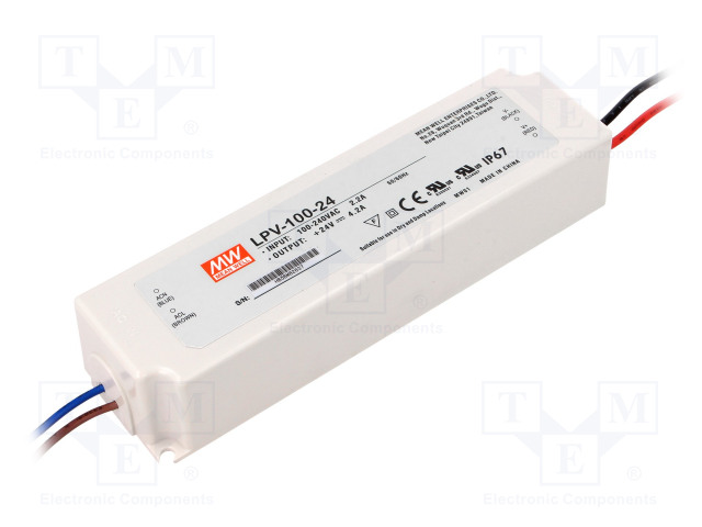 MEAN WELL LPV-100-24 - Power supply: switched-mode
