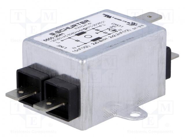 SCHURTER 5500.2041 - Filter: anti-interference
