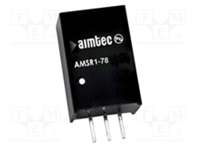 AIMTEC AMSR1-7805-NZ - Converter: DC/DC