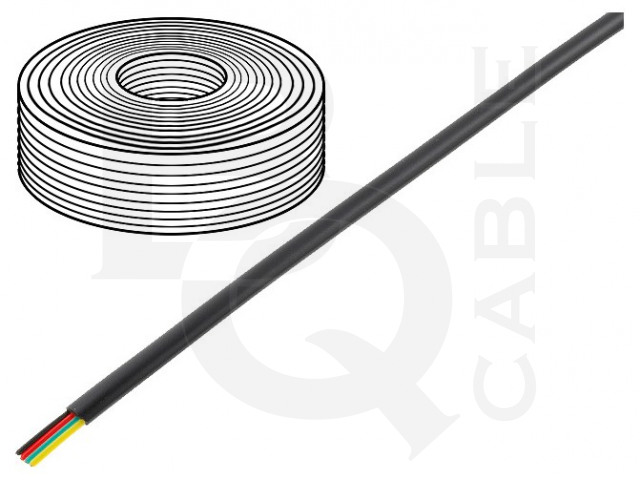 TEL-0032-100/BK BQ CABLE, Conduttore