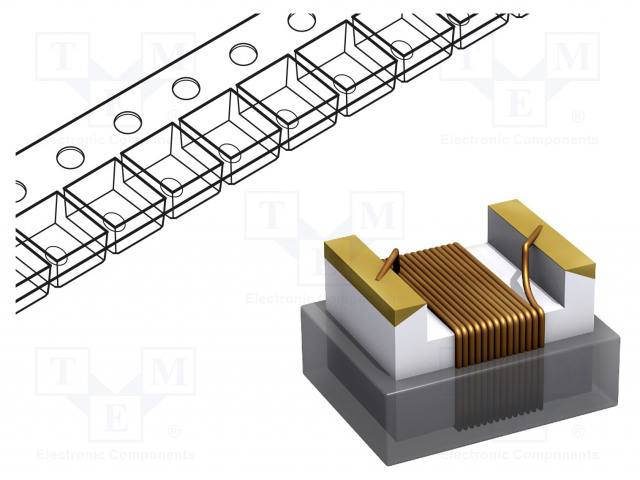 FASTRON 1210AS-R10J-01 - Inductor: wire