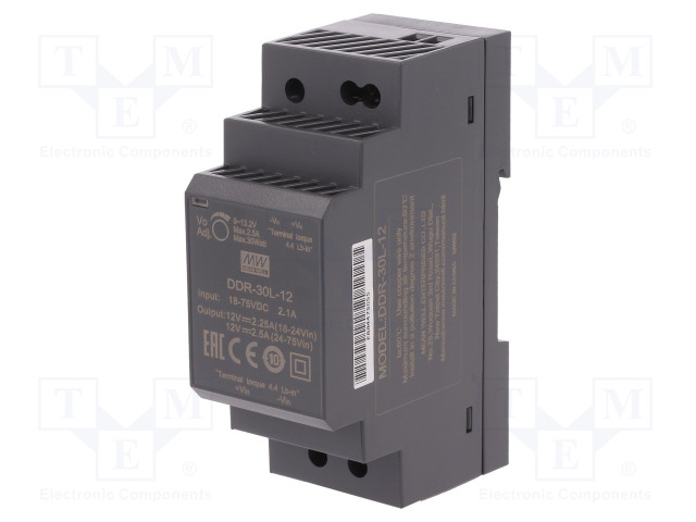 MEAN WELL DDR-30L-12 - Power supply: DC/DC