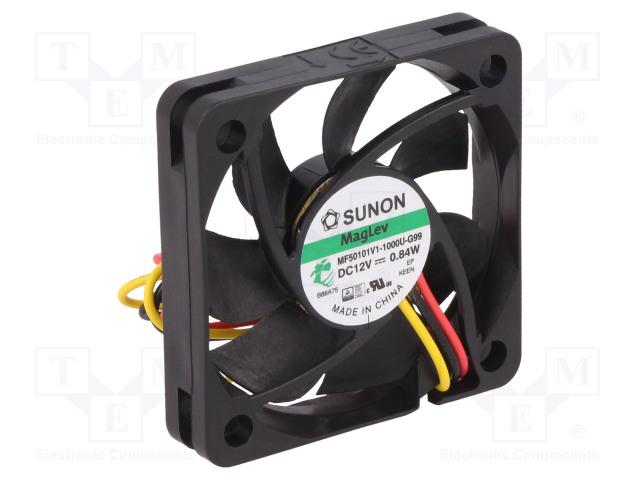 SUNON MF50101V1-1000U-G99 - Ventilátor: DC