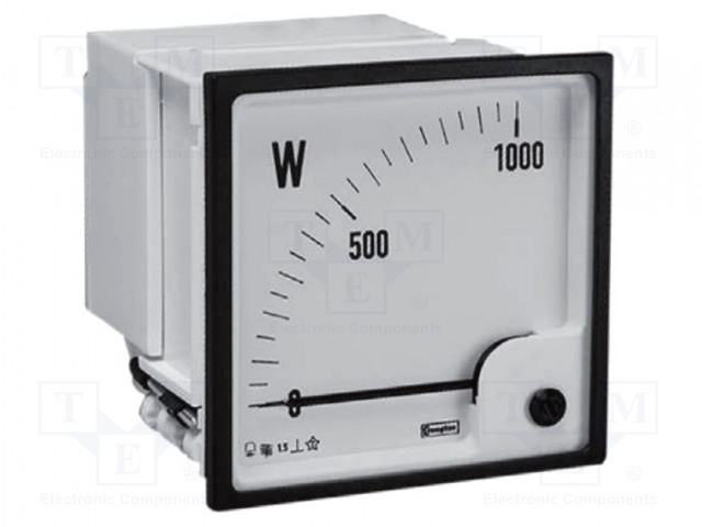 CROMPTON - TE CONNECTIVITY 400V L-L, 100/1A-0-60 KW - Power meter