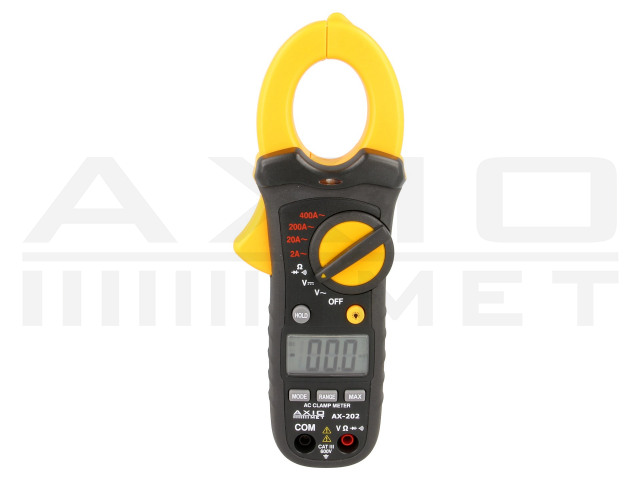 AX-202 AXIOMET, AC digital clamp meter