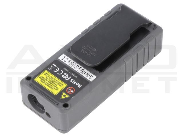 AX-DL100 AXIOMET, Laser-afstandsmeter
