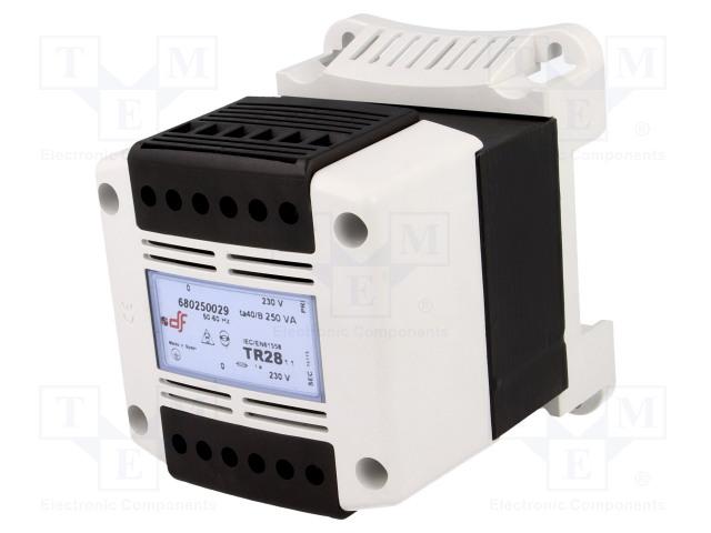 DF ELECTRIC 680250029 - Transformátor: ochranný