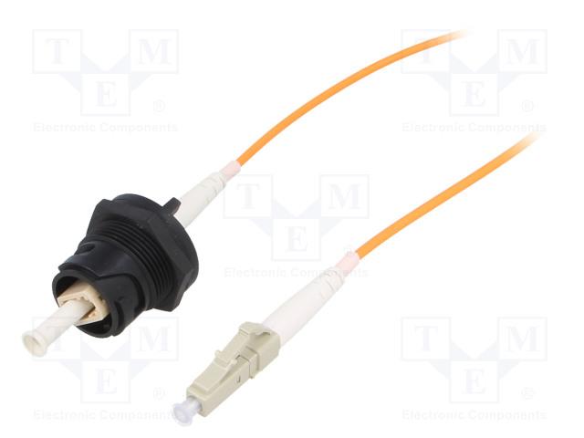 BULGIN PXF4053BAA - Connector: fiber optic