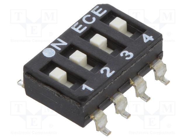 ECE ESD104LTZ - Interruptor: DIP-SWITCH