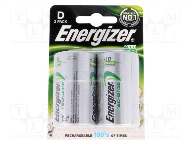 ENERGIZER ACCU-R20/2500/EG-B - Akum: Ni-MH