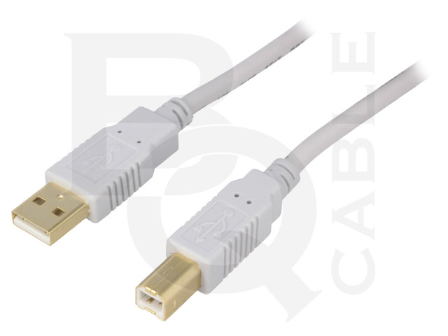CAB-USB2AB/1.0G-GY BQ CABLE, Kabel