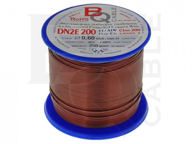 DN2E0.60/0.25 BQ CABLE, Wickeldraht
