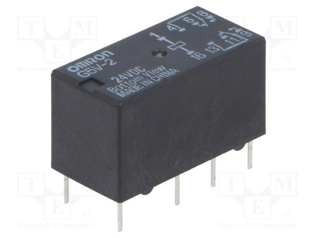 OMRON G5V-2 24VDC - Relé: elektromagnetické