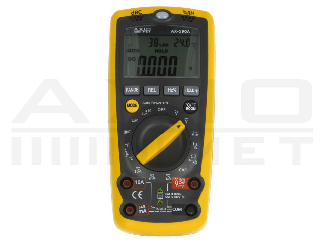 AX-190A AXIOMET, Digitale multimeters