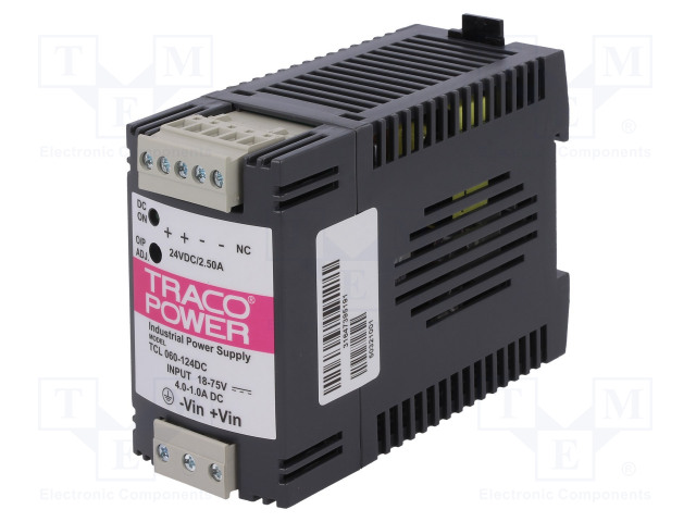 TRACO POWER TCL 060-124 DC - Converter: DC/DC