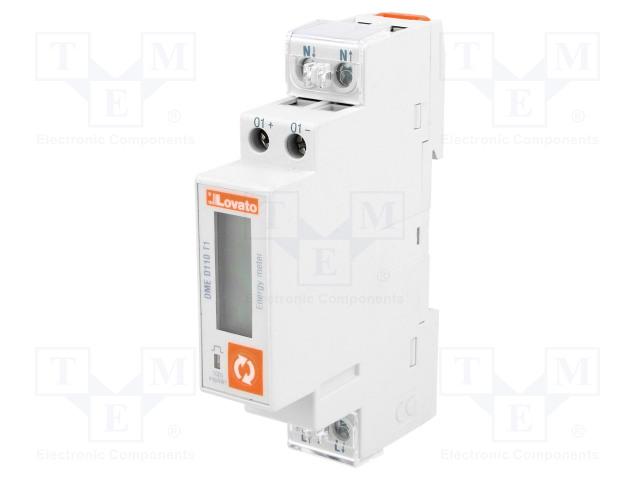 LOVATO ELECTRIC DME D110 T1 - Sähköenergian laskurit