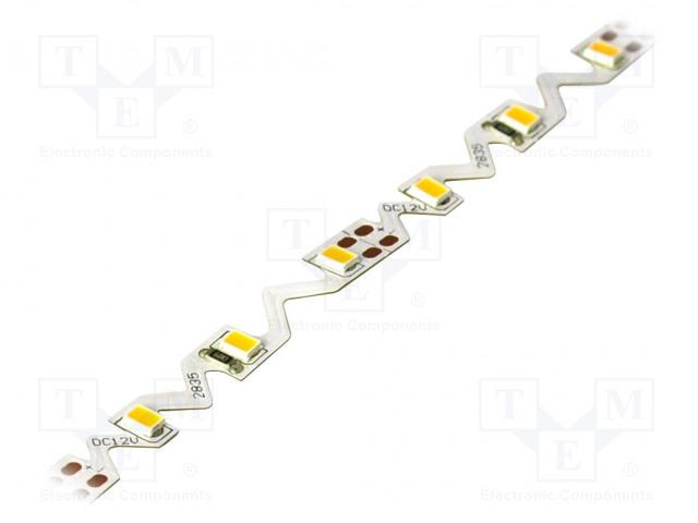 WISVA OPTOELECTRONICS HH-S60F006-2835S WW WHITE PCB IP20 - LED tape