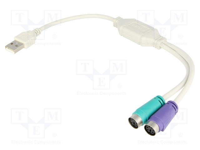VCOM CU807 - Adapter USB-PS2
