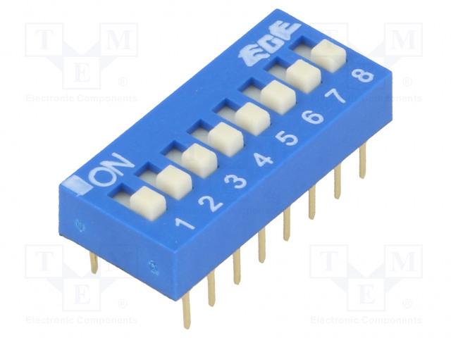 ECE EDG108S - Switch: DIP-SWITCH