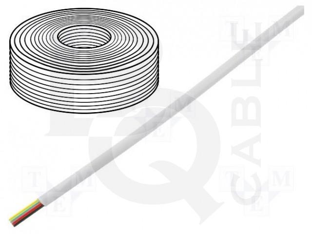 TEL-0032-100/WH BQ CABLE, Conduttore