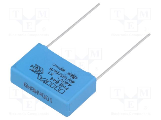 KEMET PHE844RD6100MR30L2 - Kondenzátor: polypropylénový