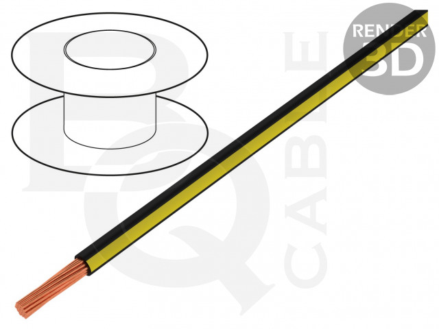 LGY0.35-BK/YL BQ CABLE, Vodič