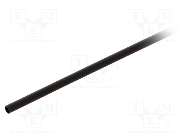 ALPHA WIRE FIT2211/8 BLACK 25X4 FT - Heat shrink sleeve