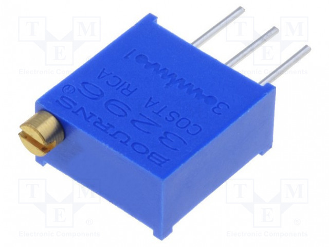 BOURNS 3296W-1-504LF - Potentiometer: mounting
